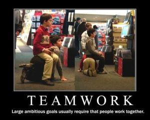 Teamwork - foil 3