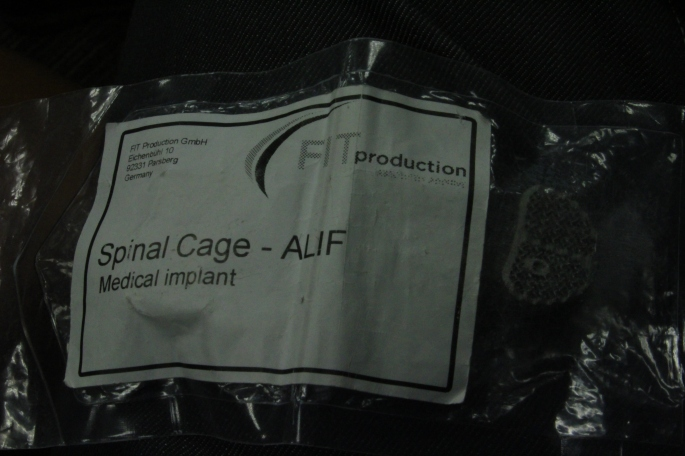 De fleste medisinske implantater kan nå printes i titan.